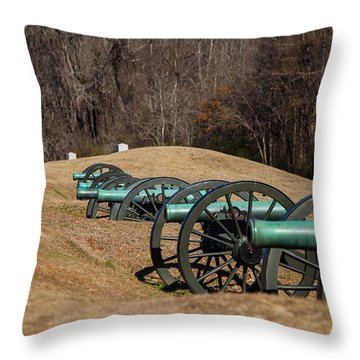 Ready Aim Fire Throw Pillow