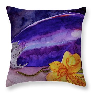 Ready Throw Pillow by Beverley Harper Tinsley