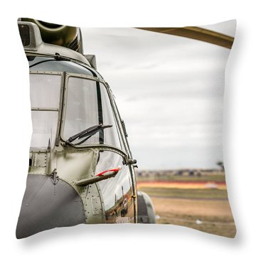 Ready For Action II Throw Pillow