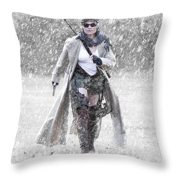 Ready For Action Throw Pillow by Jt PhotoDesign