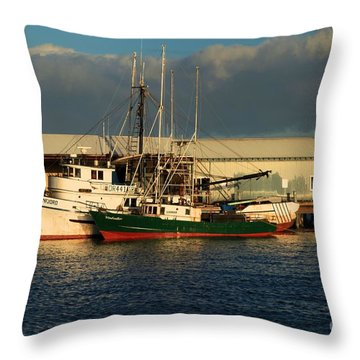 Ready For The Day Throw Pillow by Adam Jewell