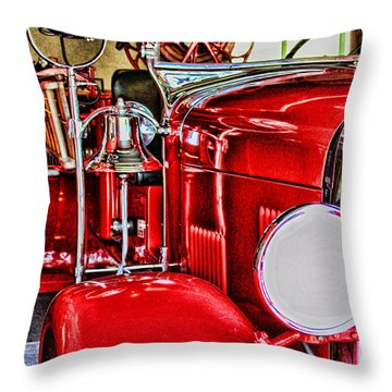 Ready For The Ring By Diana Sainz Throw Pillow
