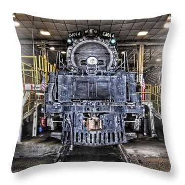 Throw Pillow featuring the photograph Ready To Begin My Restoration by Ken Smith