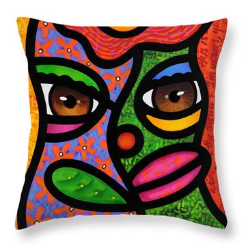 Ready To Blossom Throw Pillow