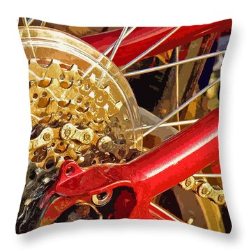 Ready To Go Throw Pillow