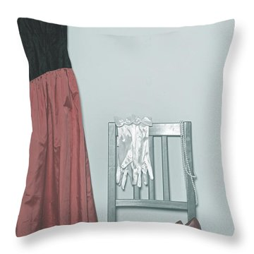 Ready To Go Out Throw Pillow by Joana Kruse