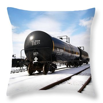 Throw Pillow featuring the photograph Ready To Go by Sara  Raber