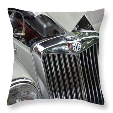 Real M G Throw Pillow