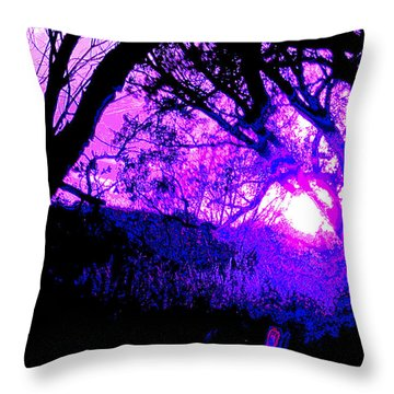 Reality Dissolves Mr. Philip K Dick Throw Pillow