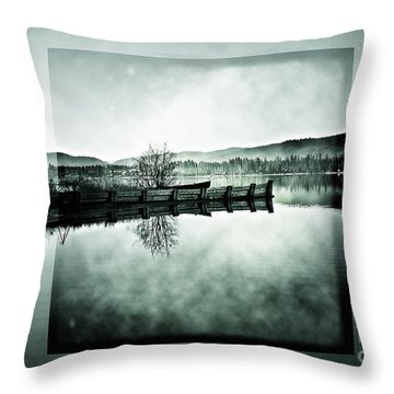 Realize Throw Pillow by Janie Johnson