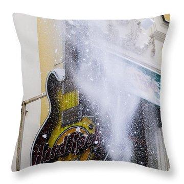 Really Hard Rock - Featured 3 Throw Pillow by Alexander Senin