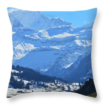 Realm Of Hope Throw Pillow by Felicia Tica