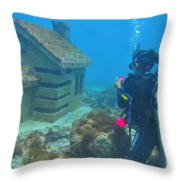 Realtor Desparate For A Listing Throw Pillow by Halifax photography by John Malone