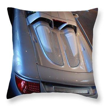 Rear Pov Throw Pillow by John Schneider