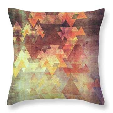 Rearrange The Sky Throw Pillow by VessDSign