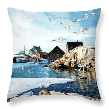 Reason To Believe Throw Pillow by Hanne Lore Koehler