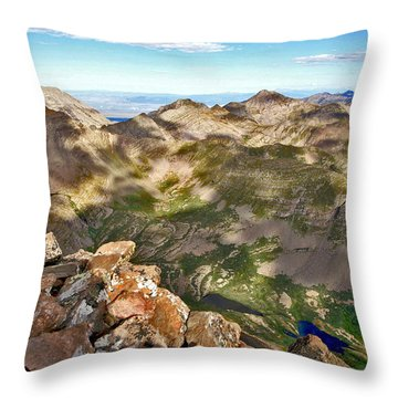Reason To Climb Throw Pillow