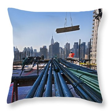 Rebar Throw Pillow
