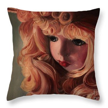 Rebecca Throw Pillow by Jane Autry