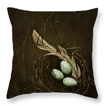 Rebirth Throw Pillow by Amy Weiss