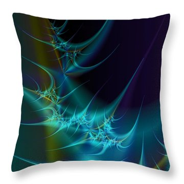 Receptors Throw Pillow