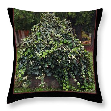 Reclaim No.1 Throw Pillow by Peter Piatt
