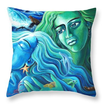 Reclaiming The Seas Throw Pillow