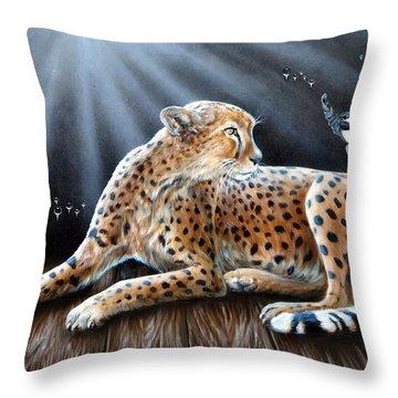 Reclusion  Throw Pillow