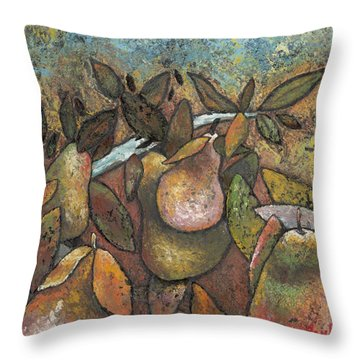 'recognized By It's Fruit' Throw Pillow