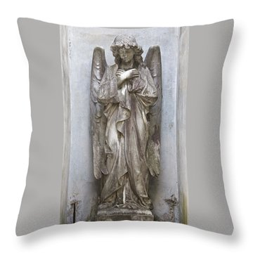 Recoleta Angel Throw Pillow