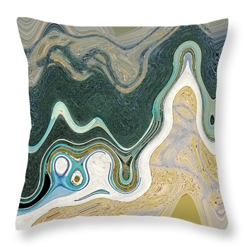 Recovering The Bronze Throw Pillow