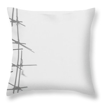 Rectangles And Shadows Throw Pillow