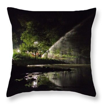 Recycling Throw Pillow