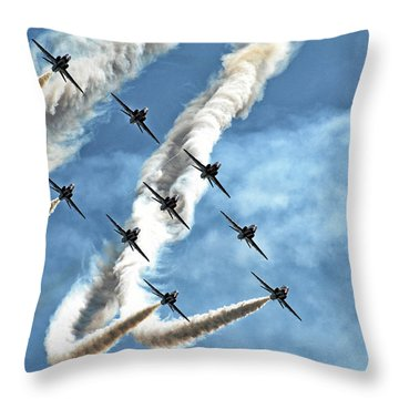 Formations Throw Pillows