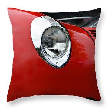 Red Beauty Throw Pillow by Susan Leggett