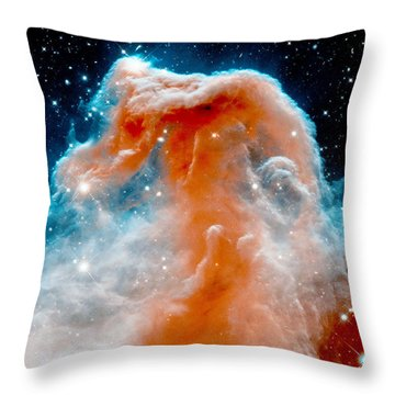 Red Cloud Walker Throw Pillow
