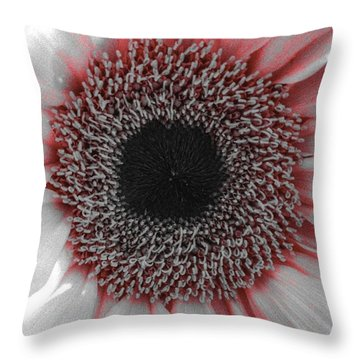 Red Delight Throw Pillow
