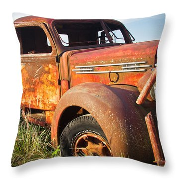 Throw Pillow featuring the photograph Red Diamond by Steven Bateson