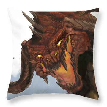 Dungeon Throw Pillows