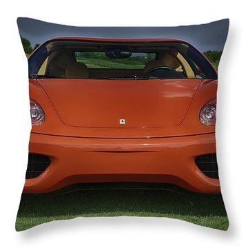 Red Dream Throw Pillow by Sebastian Musial