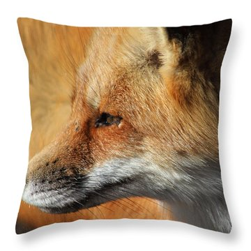 Red Fox Shirley New York Throw Pillow