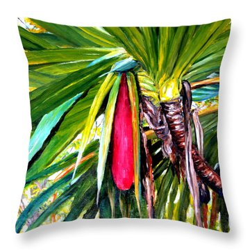 Red Fruit  Throw Pillow