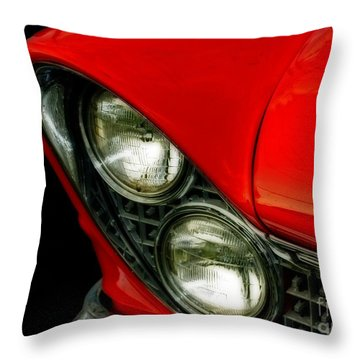 Red Hot Classic  Throw Pillow by Inspired Nature Photography Fine Art Photography