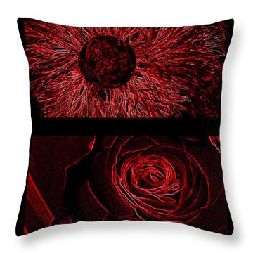 Red Is The Best Throw Pillow