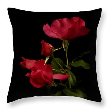 Throw Pillow featuring the photograph Red Is For Passion by Lucinda Walter