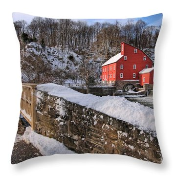 Red Mill Winter 2009 Throw Pillow