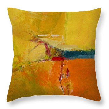 Red O Red Throw Pillow