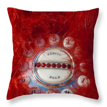 Red Phone For Emergencies Throw Pillow