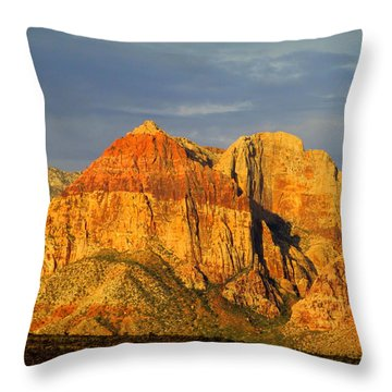 Red Rock Canyon 2014 Number 1 Throw Pillow