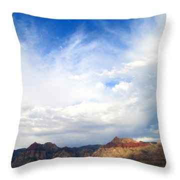 Red Rock Canyon 2014 Number 11 Throw Pillow